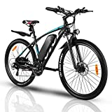 VIVI Electric Bike, 27.5 Inch Electric Bikes for Adults Mountain Bike with 350W Motor, 36V/10.4Ah Removable Battery, 21 Speed Gears,20MPH Speed