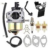 Mannial Carburetor Carb fit Honda GX120 GX160 GX200 168F 5.5HP 6.5HP 163cc 196cc Engine Champion Power Equipment 3000 3500 4000 Watts 6.5 HP Gas Generator