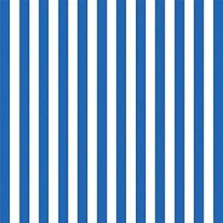Royal Blue Stripe Jumbo Gift Wrap