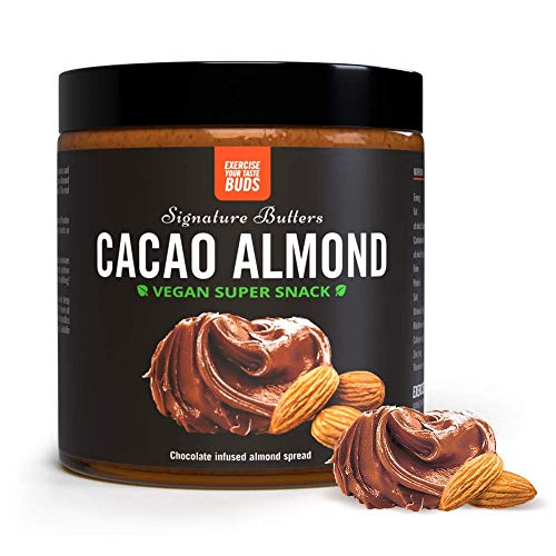 THE PROTEIN WORKS Cacao Almond Nut Butter Spread | 100% Vegan & Natural | Source of Protein | Gluten-Free | 500 g