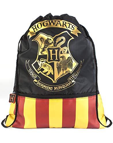 Harry Potter Poudlard Hogwarts Crest Officiel Sac à Cordonnet pour l'école Gym