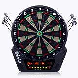 Jeu de fléchette électronique cible Écran LCD 27 jeux 243 variations 1-16 joueur
