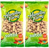 Salted Roasted Peanuts, 10-oz. Bags - 2 Packs; Hearty and healthy peanuts a good source of Protein (1)
