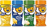 Kernel Season's Popcorn Seasoning 4 Flavor Variety Bundle: (1) Kernel Season's White Cheddar Popcorn...