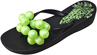 Women's Office wear Clogs and Mules Casual Synthetic Sandal with Grape Black Color (7)