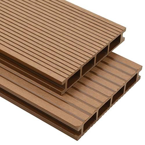 Timbergrip Bandes convexes et antid/érapantes pour terrasse en bois Noir 1000 x 50 mm