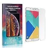 GIMTON Trasparente Vetro Temperato per Galaxy A5 2016, Nessuna Bolla, Anti Impronte, Pellicola Protettiva in Vetro Temperato, 0.26mm Ultra Sottile, 1 Pezzi