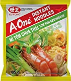 A-One Fideos Instantáneos, Sabor Tom Yum Koong 80 g