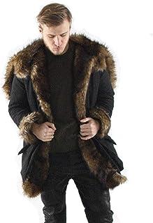 vente au royaume uni produits de commodité les ventes en gros Amazon.fr : manteau fourrure homme