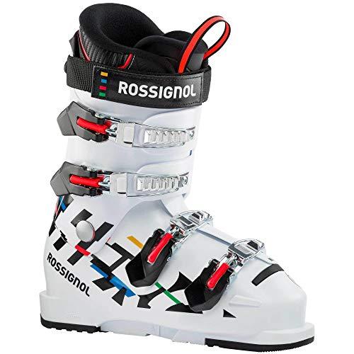 Rossignol Hero Jr 65 Botas de esquí, Unisex-Youth, White, 24.5