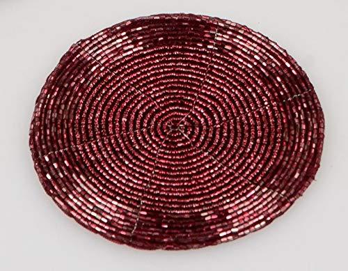 formano Untersetzer PERLEN rund Beere rot D. 10cm