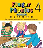 Finger Phonics 4: In Print Letters