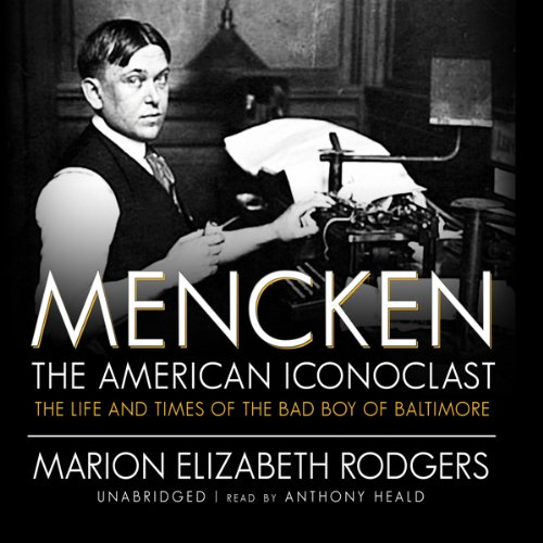Mencken audiobook cover art