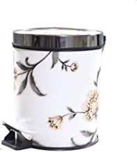 YbauShop Waste Bin Household Trash Can Garbage Can Wastebasket with Plastic Inner Bucket with Rubbish Bin Waste Container ...