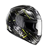 Casco moto HJC CS 15 SONGTAN MC4HSF, Nero/Giallo, M