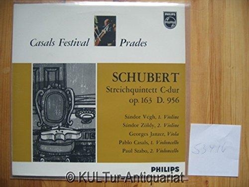 Schubert Streichquintett C-dur op.163 D.956 [Vinyl-LP].