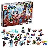 LEGO 76196 Marvel Los Vengadores: Calendario de Adviento de 2021 con Spider-Man e Iron Man para Niños de +7 Años