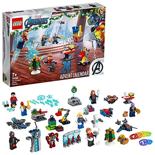 LEGO 76196 Marvel Le Calendrier de l'Avent des Avengers, Jou