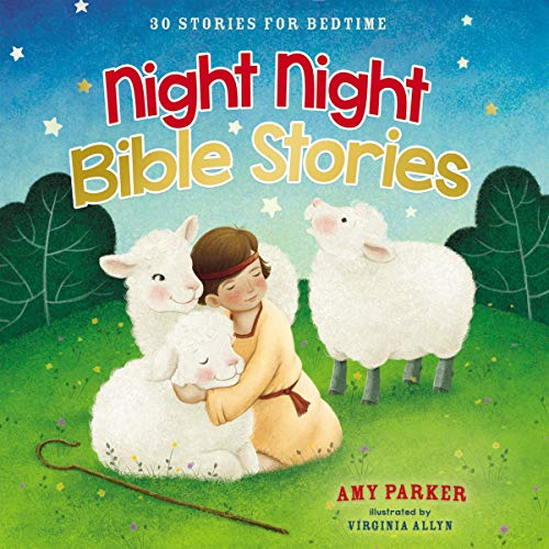 Night Night Bible Stories: 30 Stories for Bedtime audiobook cover art