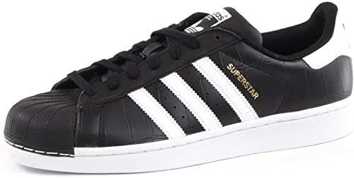 Adidas Superstar Chaussures de Fitness Homme, noir blanc, 40 EU