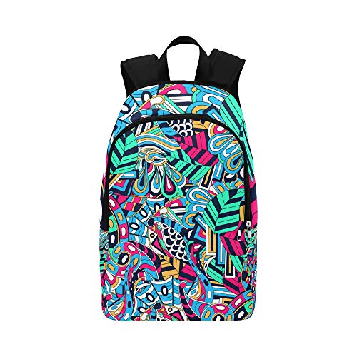 Youth Sports Bag Neat Fashion Cute Cartoon Painting Durable Water Resistant Classic Bag for School Supplies Best School Bags Messenger Backpack Men Travel Toiletry Bag