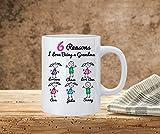 N\A Motivi per Cui Amo Essere Una Tazza della Nonna Tazza da caffè della Nonna Personalizzata Famiglia stilizzata