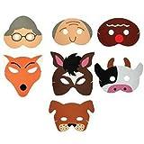 Teaching Resource Sack - Gingerbread Man Storytelling Mask Set