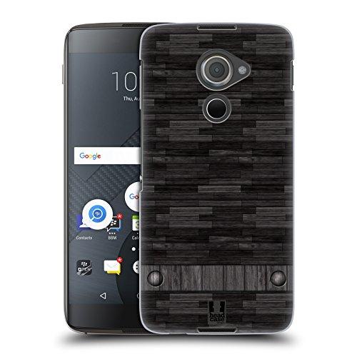 Head Case Designs Holz Industrielle Texturen Harte Rueckseiten Huelle kompatibel mit BlackBerry DTEK60