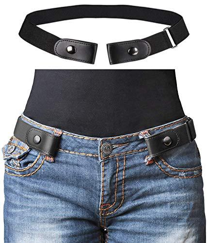 X XHtang Stretch-Gürtel ohne Schnalle für Damen/Herren, ohne Schnalle, elastischer Gürtel für Jeans, Kleider, Hosen, unvisobler Gürtel, kein Ausbauen, Kein Stress, kein Ärger