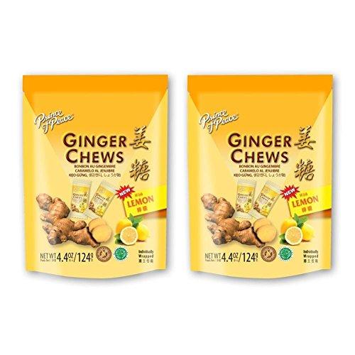 Prince Of Peace, Ginger Chews With Lemon - 4.4 Oz