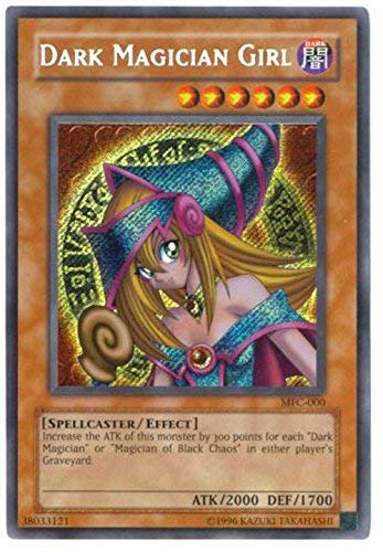 Yu-Gi-Oh! - Dark Magician Girl (MFC-000) - Magicians Force - Unlimited Edition - Secret Rare
