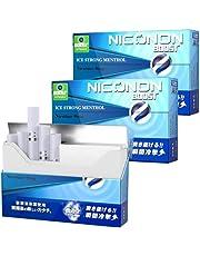 NICONON ニコノン 瞬間冷撃 ストロングアイスメンソール 禁煙後の新しいカタチ。アイコス互換機 次世代ニコチン0mg加熱式スティック