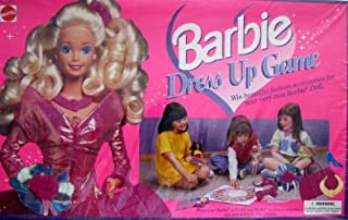 Barbie DRESS UP GAME - WIN a FASHION ACCESSORY For YOUR DOLL (1995 International Games/Mattel)
