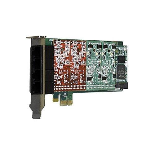 Digium 1A4B04F 4 Port 2-Fxs & 2-Fxo Pci-E Card with Echo Cancellation