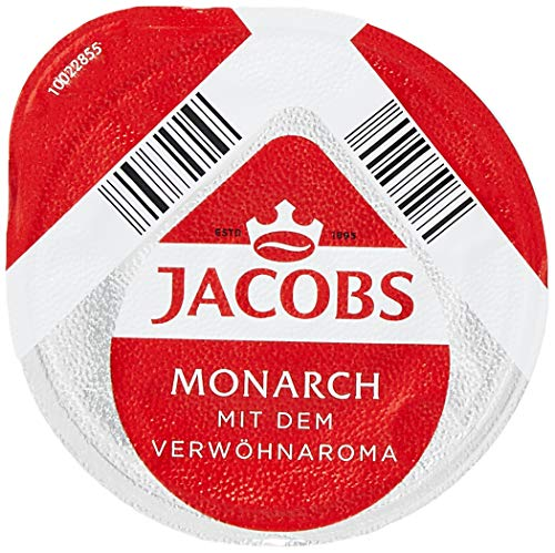 TASSIMO Jacobs Monarch Coffee Capsules Refills Pods T-Discs Pack of 5, 80 Drinks