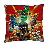 Cojín con diseño de Ninjago de Lego, 40 x 40 cm