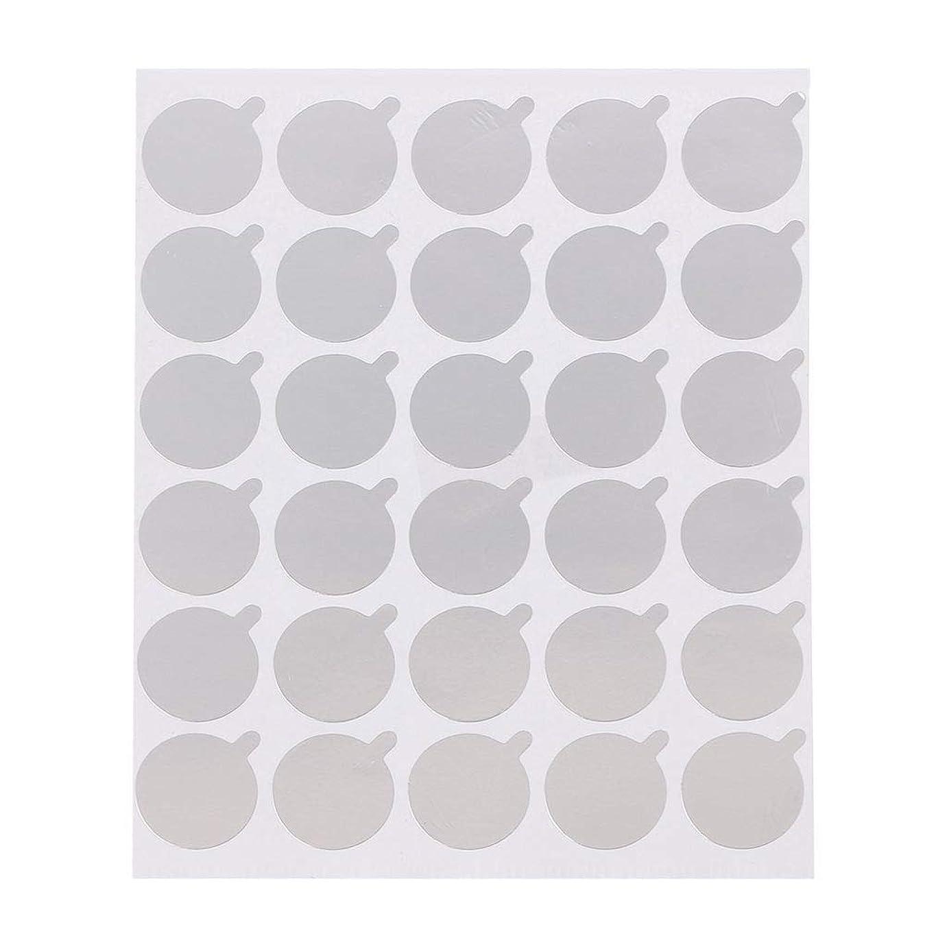 パリティ東ティモール委任Biuuu 30pcs使い捨てまつげ接着剤パレットまつげステッカー拡張パッド