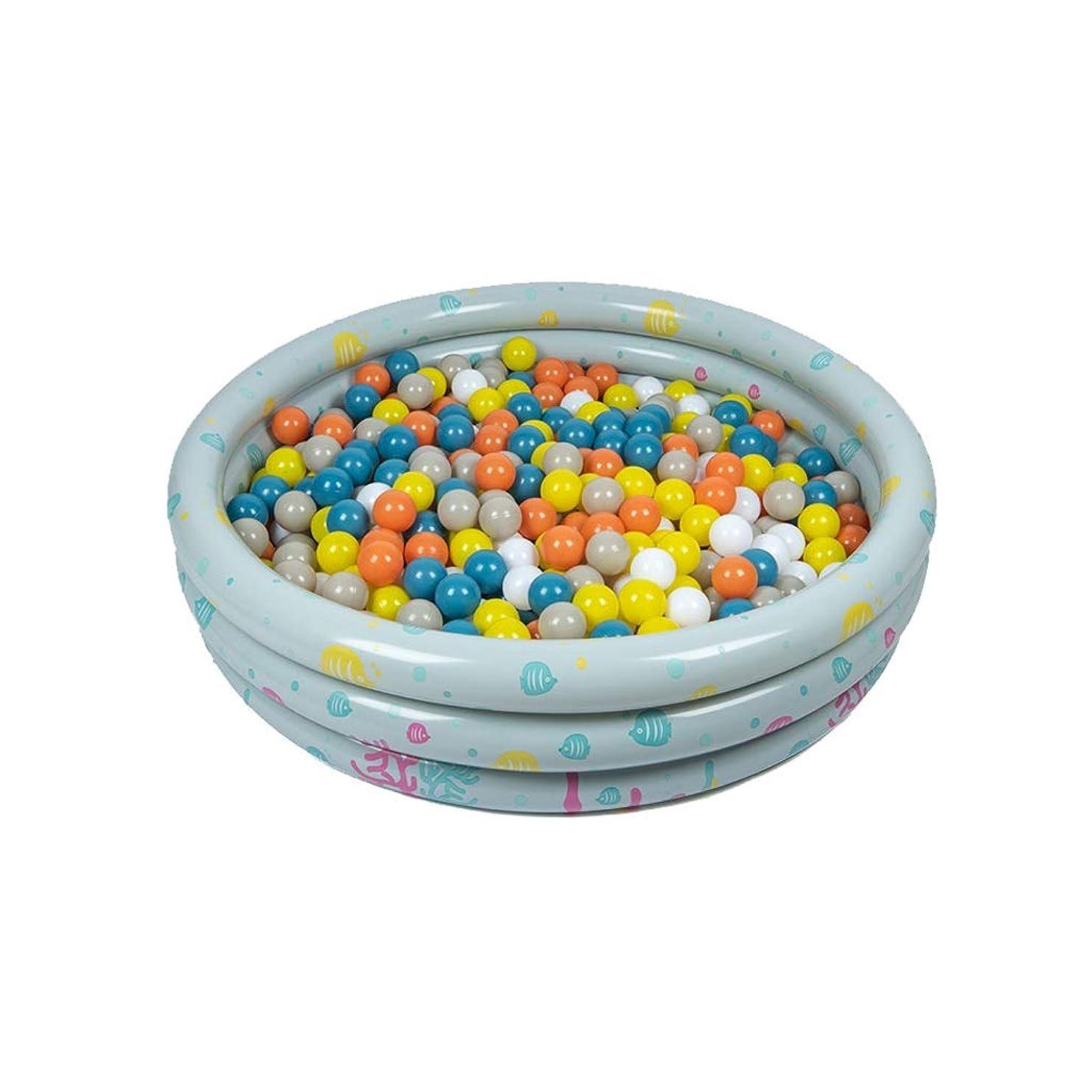 LIUFS-フェンス 子供のマリンボールプール屋内家庭用インフレータブルカラーボール波プールフェンス子供のおもちゃ (Size : Ocean ball*100)
