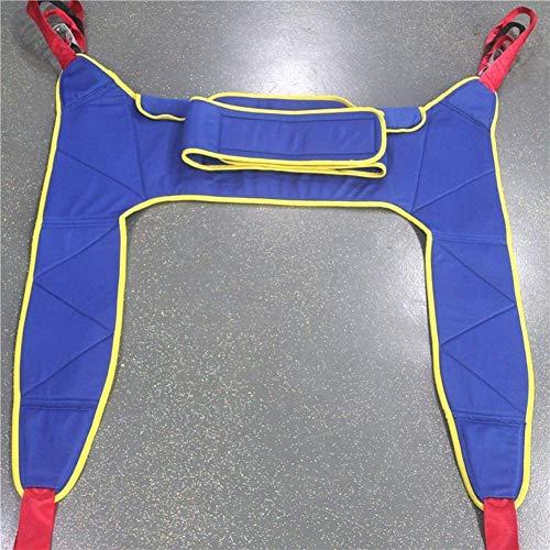 51IHJH5uoUL - Grúa de paciente portátil de transferencia de honda de la correa, en movimiento suave Assist alzamiento de la marcha del arnés del cinturón ajustado Heights de dispositivos, for la tercera edad, disca