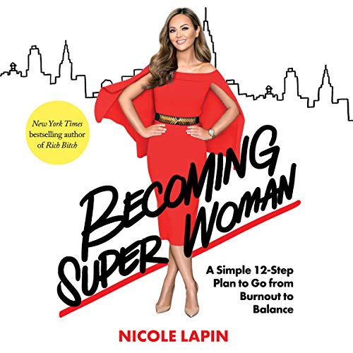 Becoming Super Woman audiobook cover art
