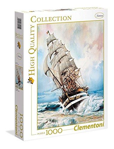 Clementoni-Amerigo Vespucci Puzzle, 1000 Pezzi, Multicolore, 39415