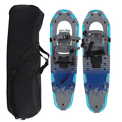 Keenso Schneewanderschuhe, 30 Zoll Schneeschuhe Herren Schneeschuhe Flexible Laufschneeschuhe Leichter Aluminiumrahmen mit Schnellverschluss