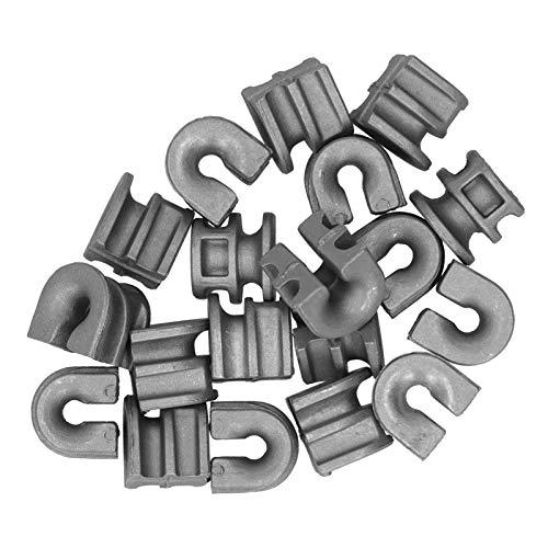 FOLOSAFENAR Mangas con Ojales Mangas con Ojales de Cabezal de Corte de fabricación Profesional de Alta dureza para cortacésped Stihl 25-2
