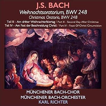 Bach · Weihnachtsoratorium (Teil III & IV)