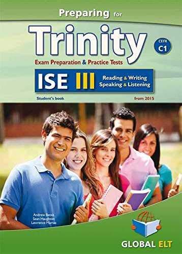 Preparing for Trinity. ISE C1. Student's book. With key. Per le Scuole superiori. Con audio formato MP3. Con e-book. Con espansione online [Lingua inglese]