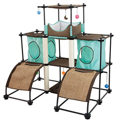 Kitty City Steel Claw Castle Cat Furniture