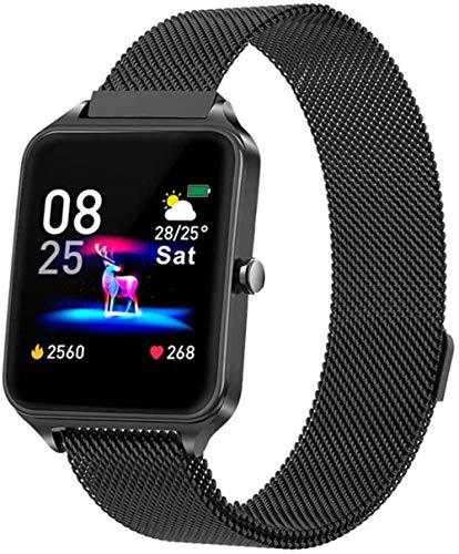 Smart Watch GPS Sport Tracker 1.4 IPS Pantalla táctil a color Previsión meteorológica Activity Tracker Bluetooth Watch para iOS Android D