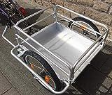 Red Loon Cargo Remorque de vélo avec jantes en aluminium 144 l