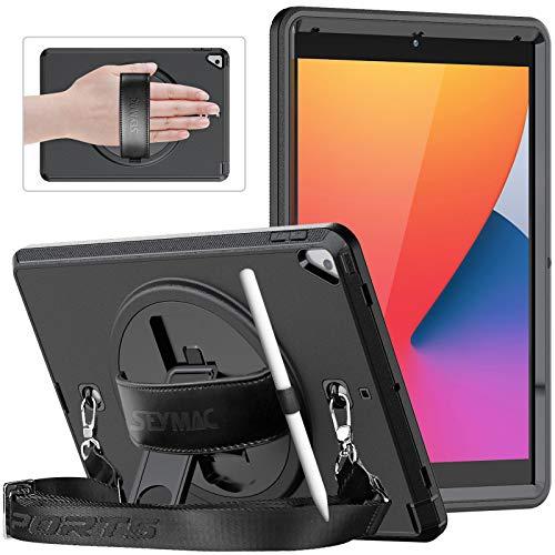 SEYMAC iPad 10.2 Case, iPad 8th/7th Generation Case 2020/2019, Slim...