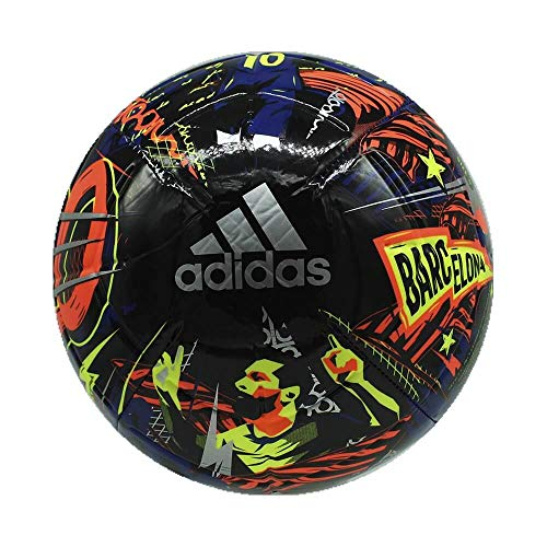 Adidas Men's Messi CLB FS0296 Top:Team Royal Blue/Black/Solar Yellow/Solar Red Bottom:Silver Met. 5